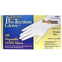 Comfitwear Disposable Latex Gloves Powder Free Size Large 【Creative Arts】 [並行輸入品]