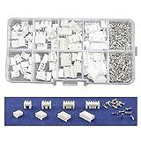 SODIAL 40キットパッキングボックス2p 3p 4p 5pin 2.54mmピッチ端子/ハウジング/プラグコネクタワイヤコネクタアダプタXHキット
