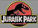 EDWIN Edwinのグループ企業Jurassic Parkジープデカール| 18in。ジャンボバンパージープサファリ恐竜| Jurassic Parkビニールステッカー