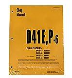 Komatsu d41e-6、d41p-6シリーズブルドーザーワークショップ修理サービスマニュアル–部品番号# sebd007007