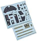 クインタスタジオ 1/32 チャンス・ヴォート F4U-1 コルセア バードケージ 内装3Dデカール (タミヤ用) プラモデル用デカール QNTD32015