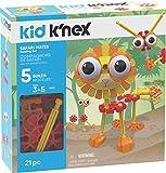 K'NEX 子供用 サファリメイツ 組み立てセット 21ピース 対象年齢3歳以上 就学前教育玩具