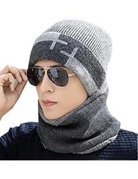 YOGLY ニット帽 シルエットがきれい メンズ ニットキャップ ニットキャップ ゆったりデザイン編みニット ニットキャップ ニット帽 メンズ メンズ おしゃれ 秋冬 防寒
