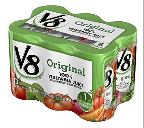 キャンベル V8 野菜ジュース 163ml×6個