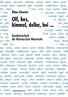 Olf, bes, kimmel, dollar, hei ...: Handwoerterbuch der Muensterschen Masematte