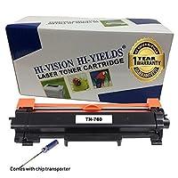 HI-VISION HI-YIELDS Compatible [NO CHIP] TN760 Toner Cartridge HighYield 3000pages Printer use with HL-L2350DW/L2390DW/L2395DW/L2370DW DCP-L2550DW MFC-L2710DW/L2750DW HL-L2370DWXL MFC-L2750DWXL(1Pk) 【Creative Arts】 [並行輸入品]