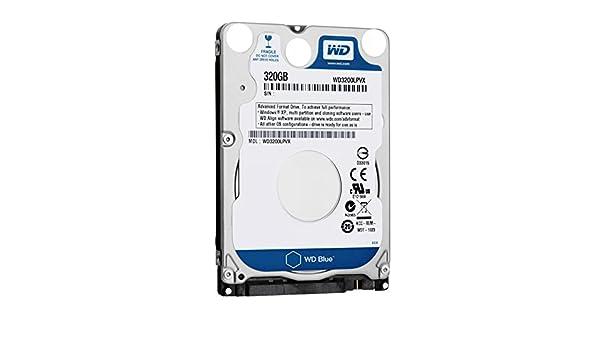 """WD Blue WD3200LPVX 320GB 5400 RPM 8MB Cache SATA 6.0Gb//s 2.5/"""" Slim Hard Drive"""