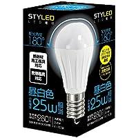 スタイルド LED電球 口金直径17mm 小形電球タイプ 2.4W 280lm (昼白色相当・密閉器具/断熱材施工器具対応・小形電球25W相当) LA2T17N1