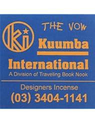 KUUMBA / クンバ『incense』(THE VOW) (Regular size)