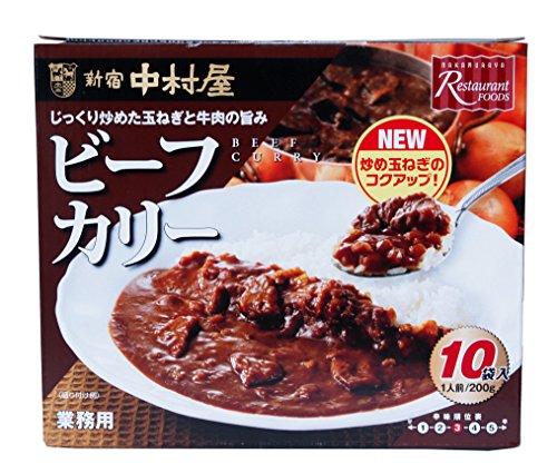 新宿中村屋 ビーフカリー 業務用(10袋)