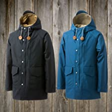 Mt Rainier Design Big Pocket Mountain Parka 700017295: Black, Navy