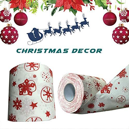 トイレットペーパー クリスマス プリント ペーパー 面白い ...