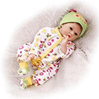 So Truly Real Reborn人形新生児赤ちゃんフェイクタトゥーLifelike Kids PlaymateモヘアManget口、22インチ