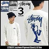 (ステューシー) STUSSY Tシャツ 長袖 メンズ Jazzmon Pigment Dyed サイズM オフホワイト [並行輸入品]