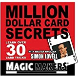 Million Dollar Card Secrets Card Tricks by MAGIC MAKERS by Magic Makers