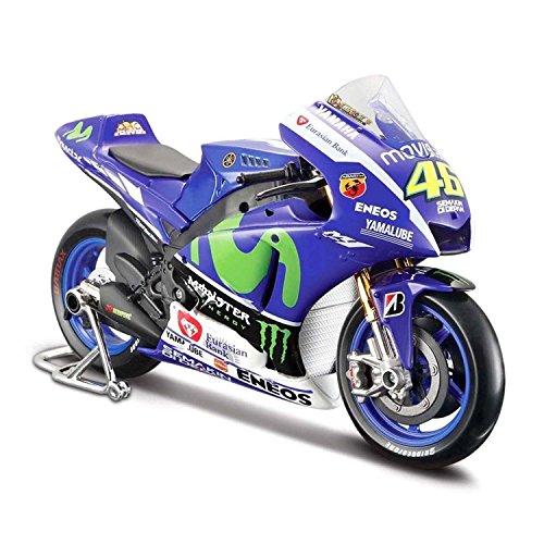 マイスト Maisto 1/10 ヤマハ Yamaha YZR-M1 Team Valentino Rossi No 46 MotoGP 2015 オートバイ Motorcycle バイク Bike Model 並行輸入品