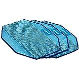 【正規品】 交換用 クロスセット (ウェットクロス3枚) ブラーバ 371 / 380 / 390 対応 アイロボット 4449270 ブルー