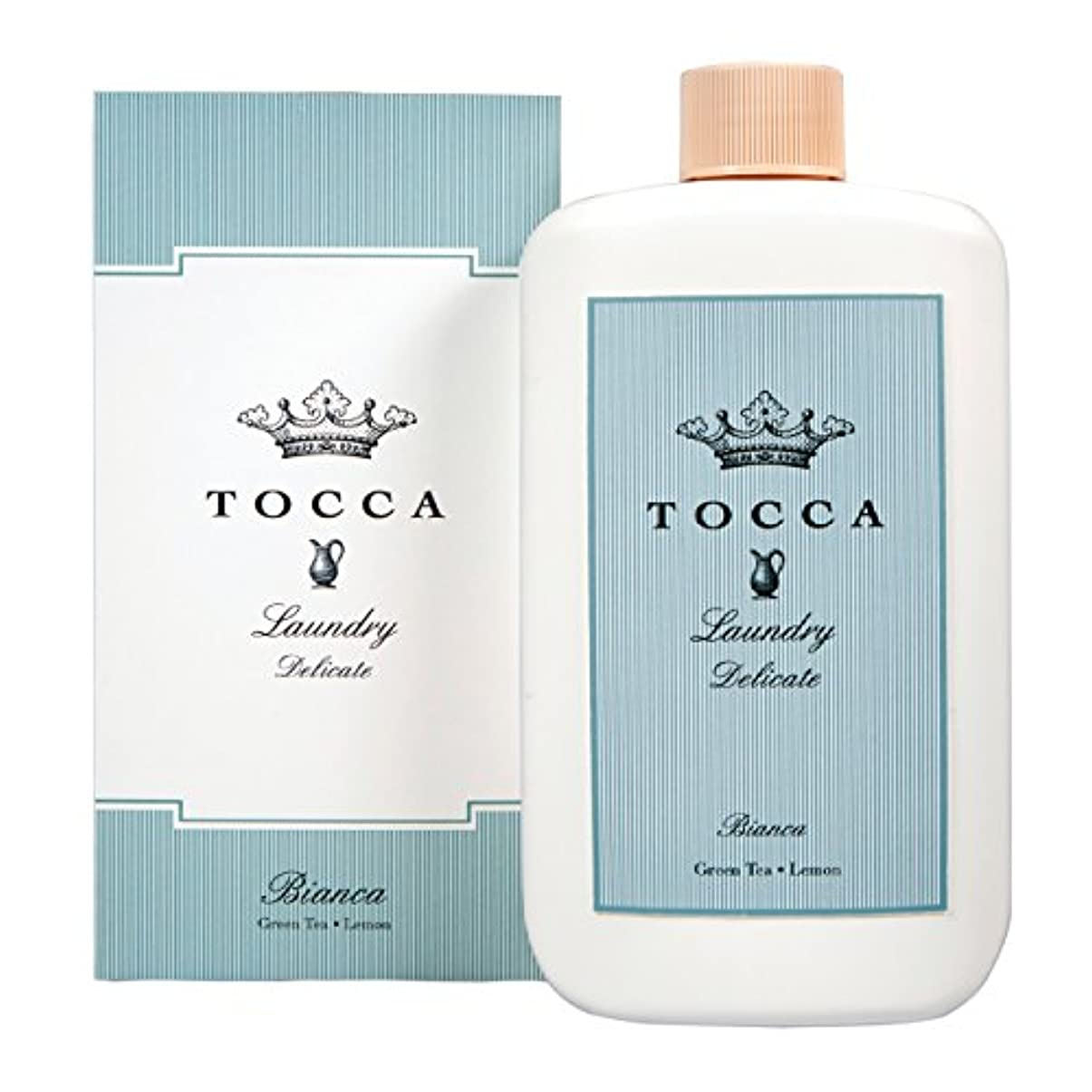 モロニックセラー素晴らしさトッカ(TOCCA) ランドリーデリケート ビアンカの香り 235ml (デリケート素材用洗剤 洗濯用合成洗剤 シトラスとグリーンティー、ローズが絶妙に溶け合ったほのかに甘さ漂うフレッシュな香り)