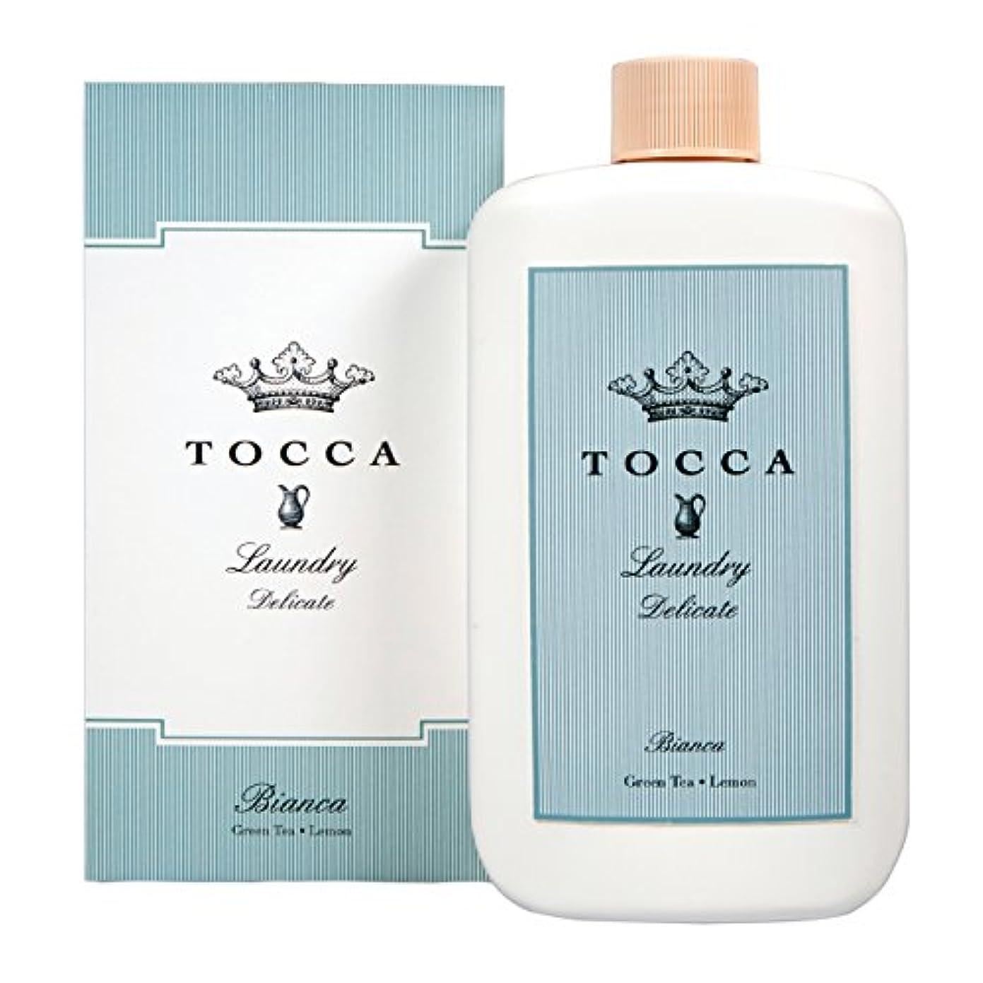 聴覚障害者ギャングスター枯渇トッカ(TOCCA) ランドリーデリケート ビアンカの香り 235ml (デリケート素材用洗剤 洗濯用合成洗剤 シトラスとグリーンティー、ローズが絶妙に溶け合ったほのかに甘さ漂うフレッシュな香り)
