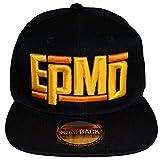 EPMD イーピーエムディー Logo スナップバックキャップ ブラック