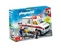 Toy / Game Fascinating Playmobil Rescue Ambulance With Lights And Sirens - For Realistic Play Experience by 4KIDS