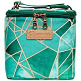 Sarah Wells Cold Gold Breastmilk Cooler Bag with Ice Pack Mosaic