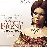 オペラ・アリア集 (Puccini , Verdi , Bellini , Mascagni , Bizet : The Opera Album / Mirella Freni) (3CD) [輸入盤]