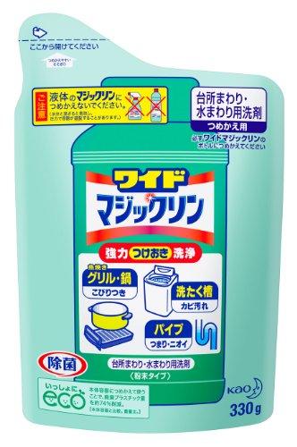 ワイドマジックリン 台所用洗剤 粉末 詰替用 360g -