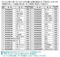 パナソニック電工 コスモシリーズワイド21 ネームスイッチカード(テラス)(ホワイト) WVC83233W