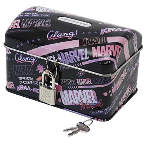 MARVEL[貯金箱]鍵付き タカラバコ 缶バンク/2020SS マーベル