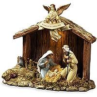 サンフランシスコ?ミュージックボックスカンパニー 聖なる家のキリスト降誕置物