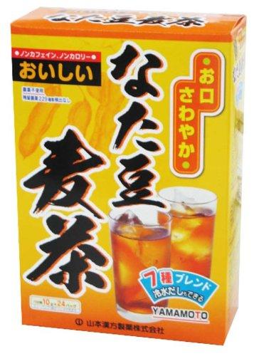 山本漢方製薬 なた豆麦茶 10gX24H...