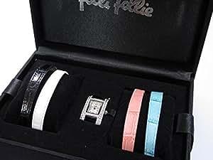 フォリフォリ FOLLI FOLLIE 替えベルト4本付き 腕時計 WF5T082 [並行輸入品]
