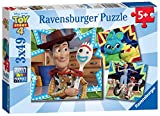 Ravensburger 08067 ディズニー ピクサー トイストーリー 4 – 3 X 49ピース ジグソーパズル – 箱入り3パズルセット