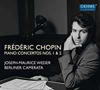 Chopin: Piano Concertos Nos. 1 & 2 by Joseph-Maurice Weder