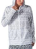 PONTAPES(ポンタペス) 無地8色/柄12色 メンズ レディース ラッシュガード パーカー PR-4200 OUT2-GRY XLサイズ 長袖 UVカット UPF50 + 指穴つき 水着 釣り 人気 オルタナティブ柄