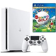 【プライムデー特別価格】PlayStation 4 グレイシャー・ホワイト 500GB + New みんなのGOLF セット(CUH-2200AB01)