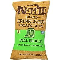 ケトル ディルピクルス 241g 8.5oz 【Kettle Potato Chips Dill Pickle】