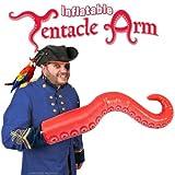 【Inflatable Tentacle Arm】腕がタコの足のようになるインフレータブル!タコの足の様な職種の風船!/パロディ/パーティグッズ/ハロウィン/仮装/オクトパス/面白い