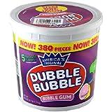 Doubble Bubble ダブルバブル バブルガム バケツ フルーツ味 (380個入り) [並行輸入品]
