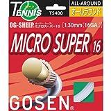 - ゴーセン GOSEN OG-SHEEP ミクロスーパー16 GOS-TS400 (10)ホワイト ○