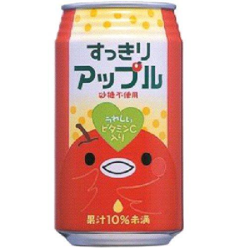 富永貿易 神戸居留地 富永食品 すっきりアップル 350g×24本