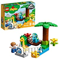 LEGO DUPLO Jurassic World Gentle Giants Petting Zoo 10879 Building Kit 24 pieces