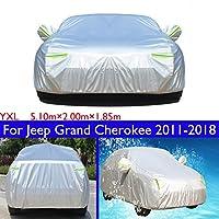 車は車をカバーして防水/防風/防塵を防いで/防備して屋外の紫外線を防いで防護します適している For Jeep Grand Cherokee 2011 2012 2013 2014 2015 2016 2017 2018 2019