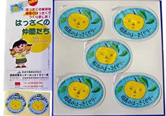 因島産八朔の果肉入りゼリー 78g×【5個】(化粧箱): 食品・飲料・お酒