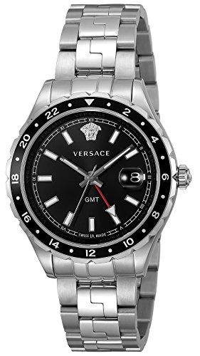 [ヴェルサーチ]VERSACE 腕時計 Hellenyium ブラック文字盤 V11100017 メンズ 【並行輸入品】