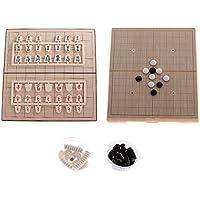 Kesoto 磁気 日本将棋 将棋 折りたたみ 磁気ボード 囲碁 ボードゲームセット