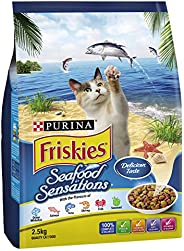 Purina Friskies Adult and Senior Seafood Sensations, 2.5kg