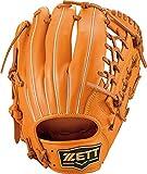 ゼット(ZETT) 軟式野球 グラブ ソフトステア オールラウンド用 左投げ用 オレンジ×オークブラウン(5636) サイズ:5 BRGB35130