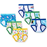 Peppa Pig Boys TBUP6027 7-Pack Peppa Toddler Boy Brief Underwear - Multi